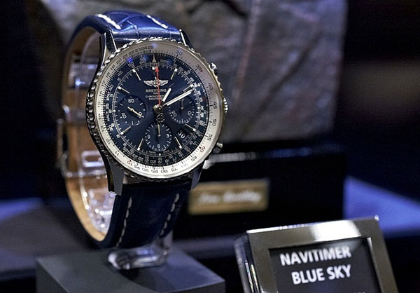Breitling Navitimer Blue Sky 60th Anniversary Limited Edition Replica Watches