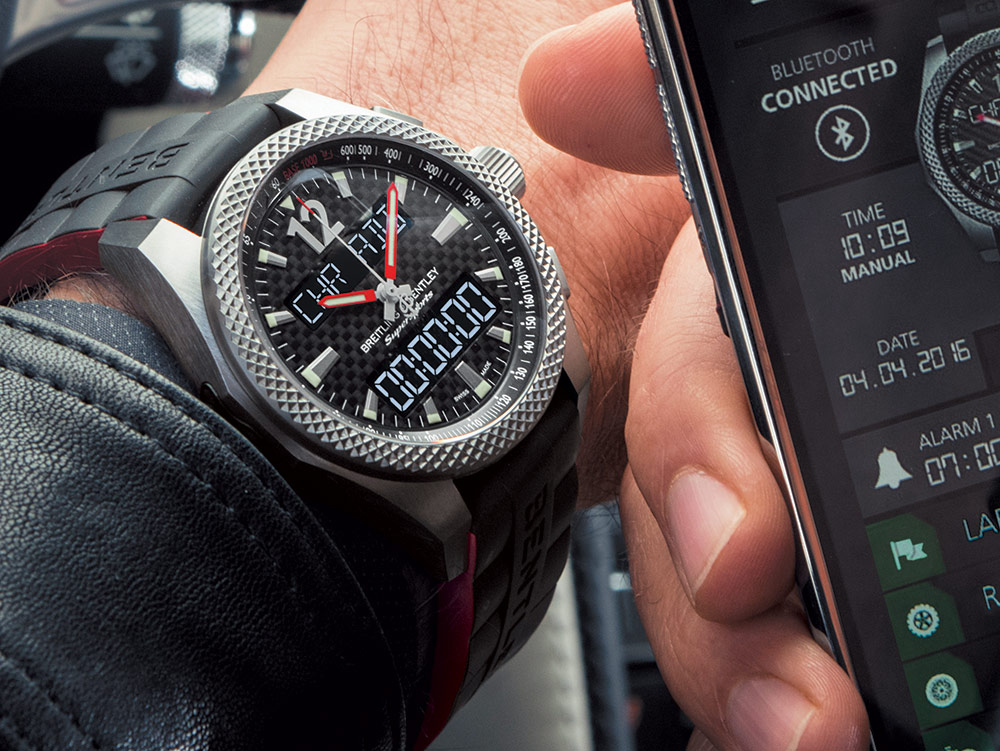 Breitling Bentley Supersports B55 Watch
