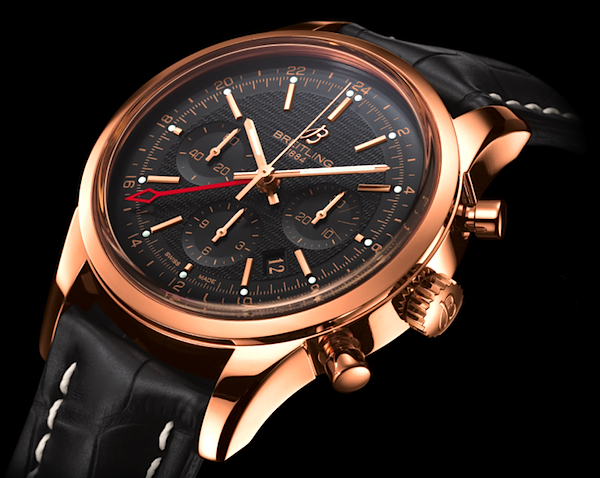 Breitling Transocean Chronograph GMT Watch