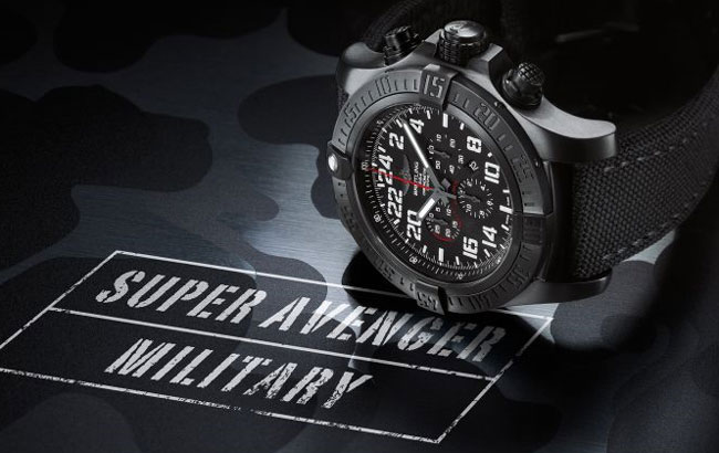 Breitling Super Avenger Military