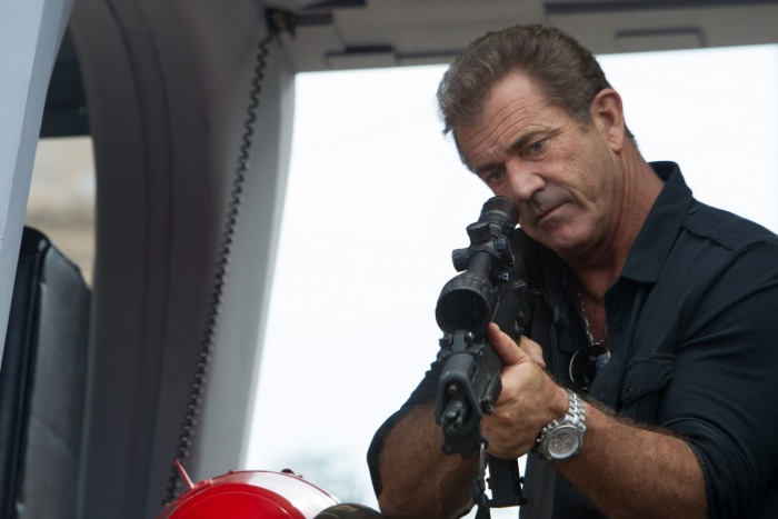 Expendables 3, Mel Gibson, DR