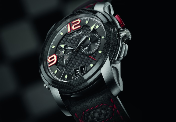 Blancpain L-evolution en carbone et or gris
