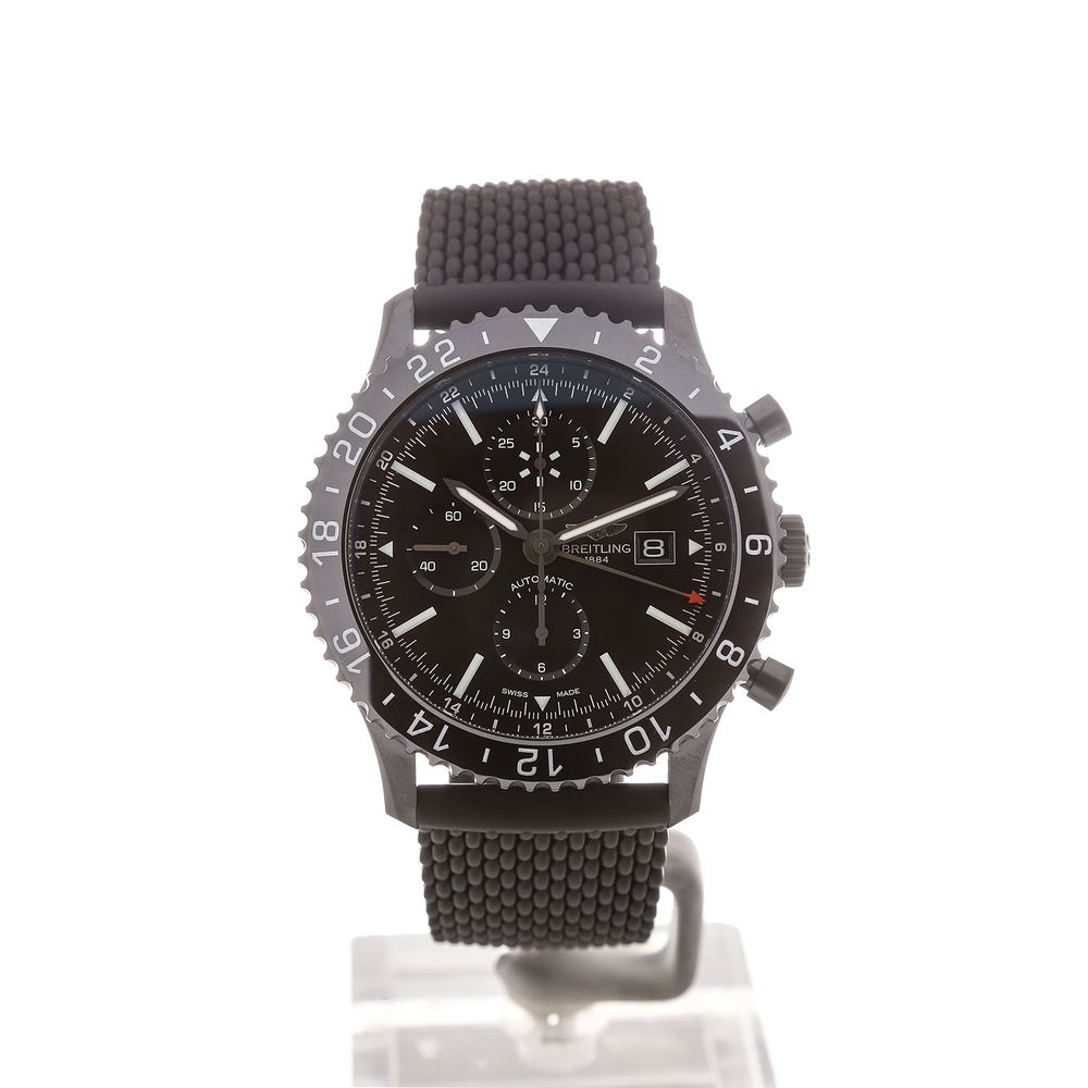 Breitling Chronoliner 46mm Chronograph Black Dial