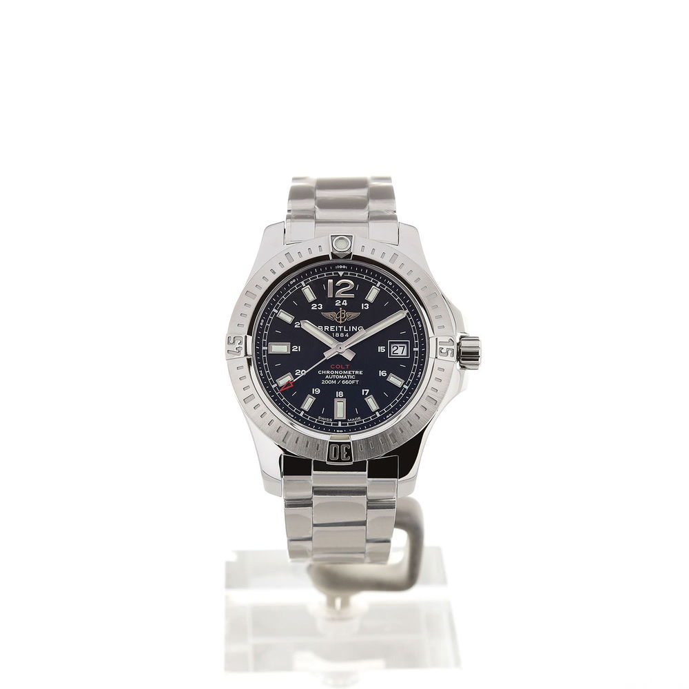 Breitling Colt 41 Automatic Black Dial